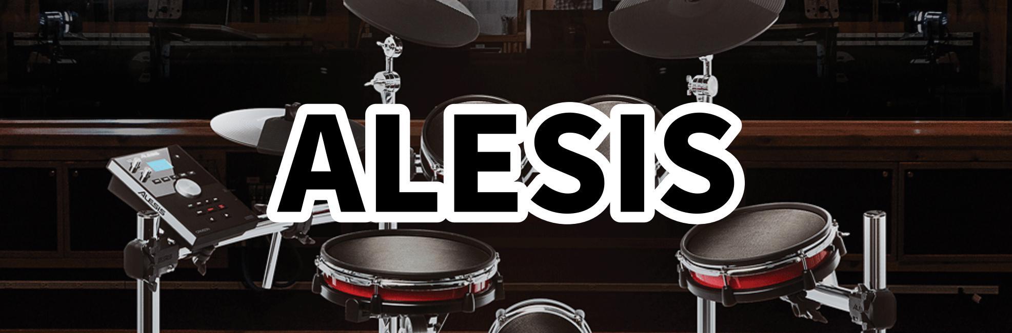 ALESIS 展示電子ドラム