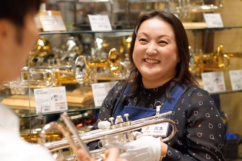 スタッフ写真木管・金管楽器アクセサリー川本