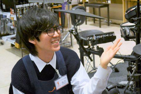 スタッフ写真<ドラムアドバイザー>松本