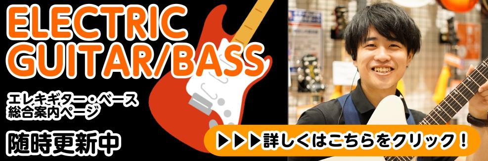 エレキギター・ベース総合ページ