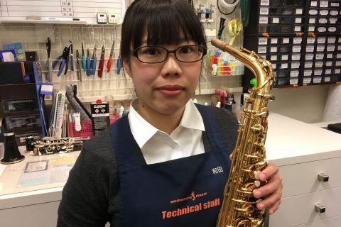 スタッフ写真管楽器技術者和田