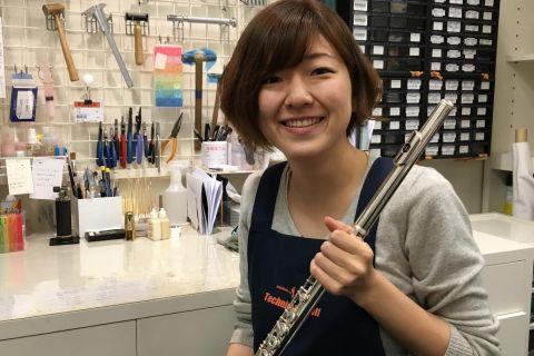 スタッフ写真管楽器技術者田井