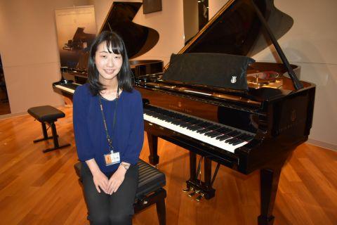 スタッフ写真ピアノサロン(音楽教室)大西