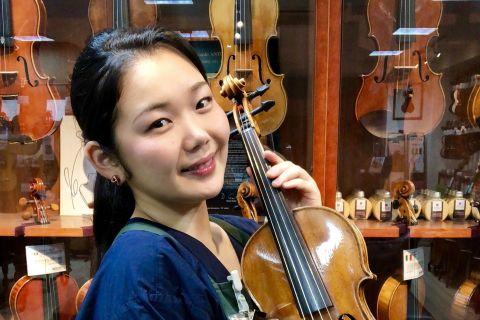 スタッフ写真ヴァイオリン Senior Adviser / 音楽教室前田