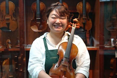 スタッフ写真ヴァイオリン清水