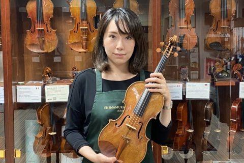 スタッフ写真ヴァイオリン髙橋