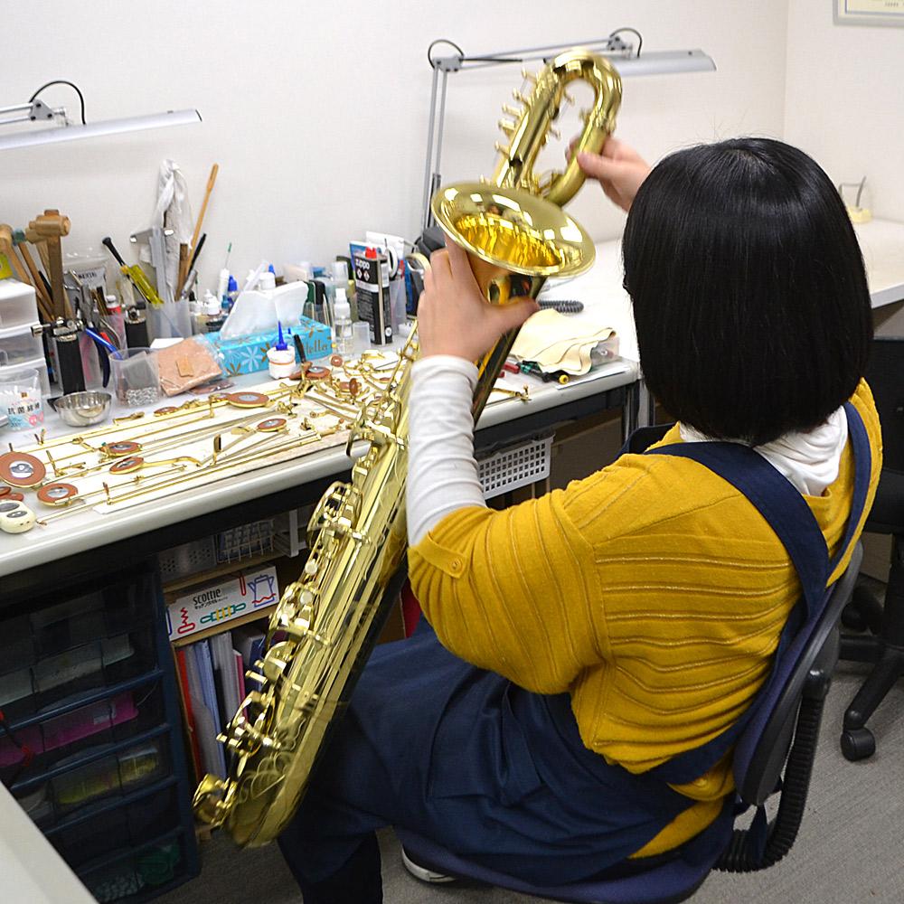 管楽器 リペア