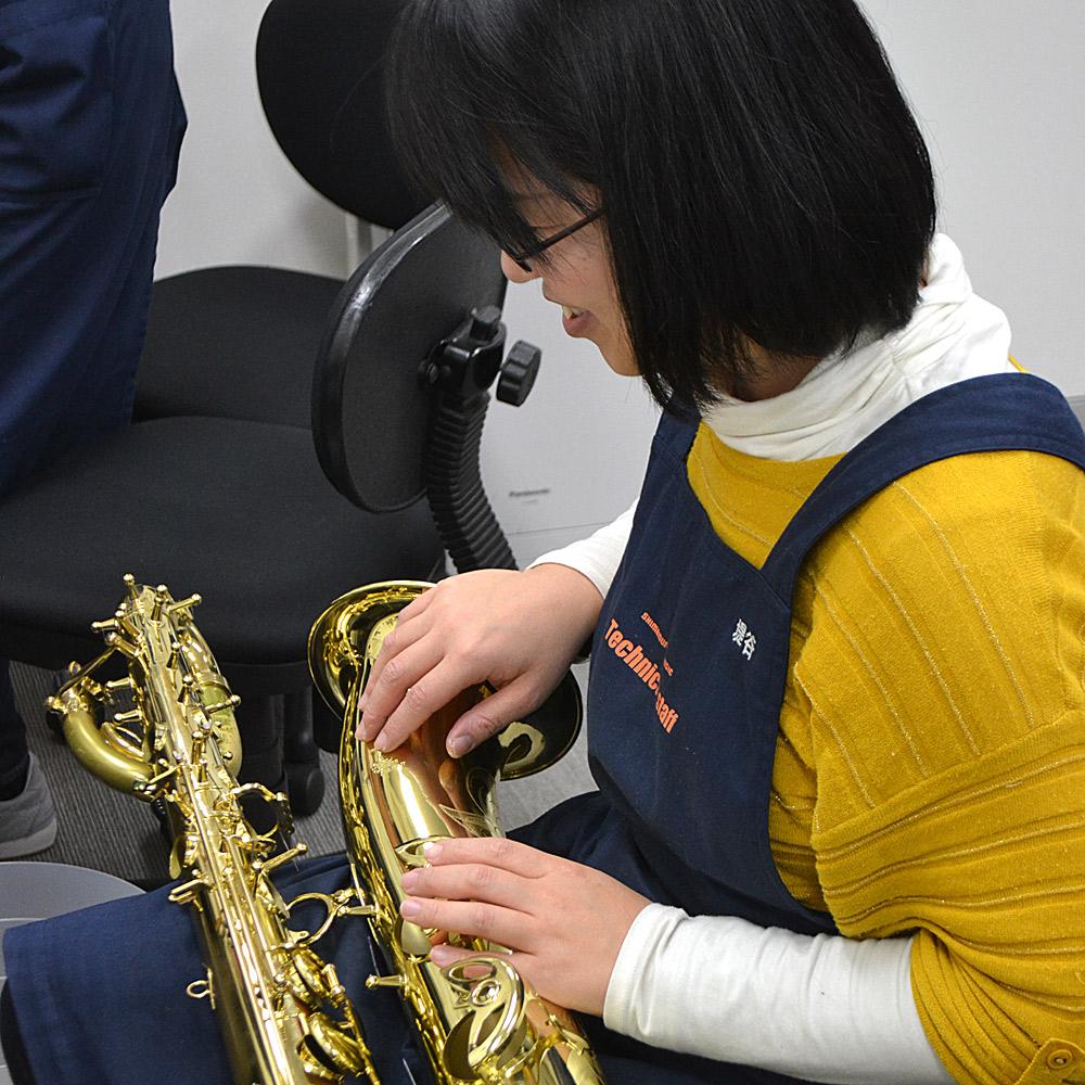 修理 リペア 管楽器