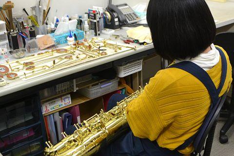 管楽器 修理
