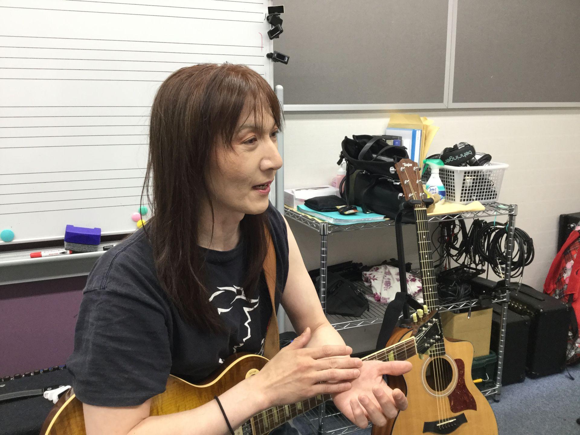 島村楽器 ギター教室講師 佐々木先生