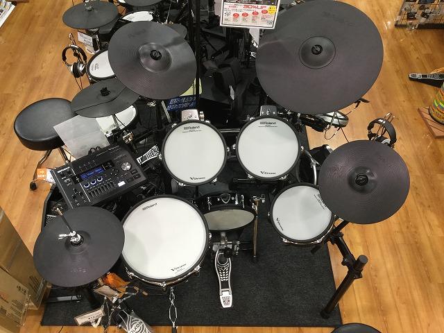 電子ドラム ローランド TD-50SC-S 島村楽器 利府