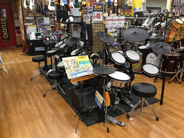 島村 宮城 電子ドラム