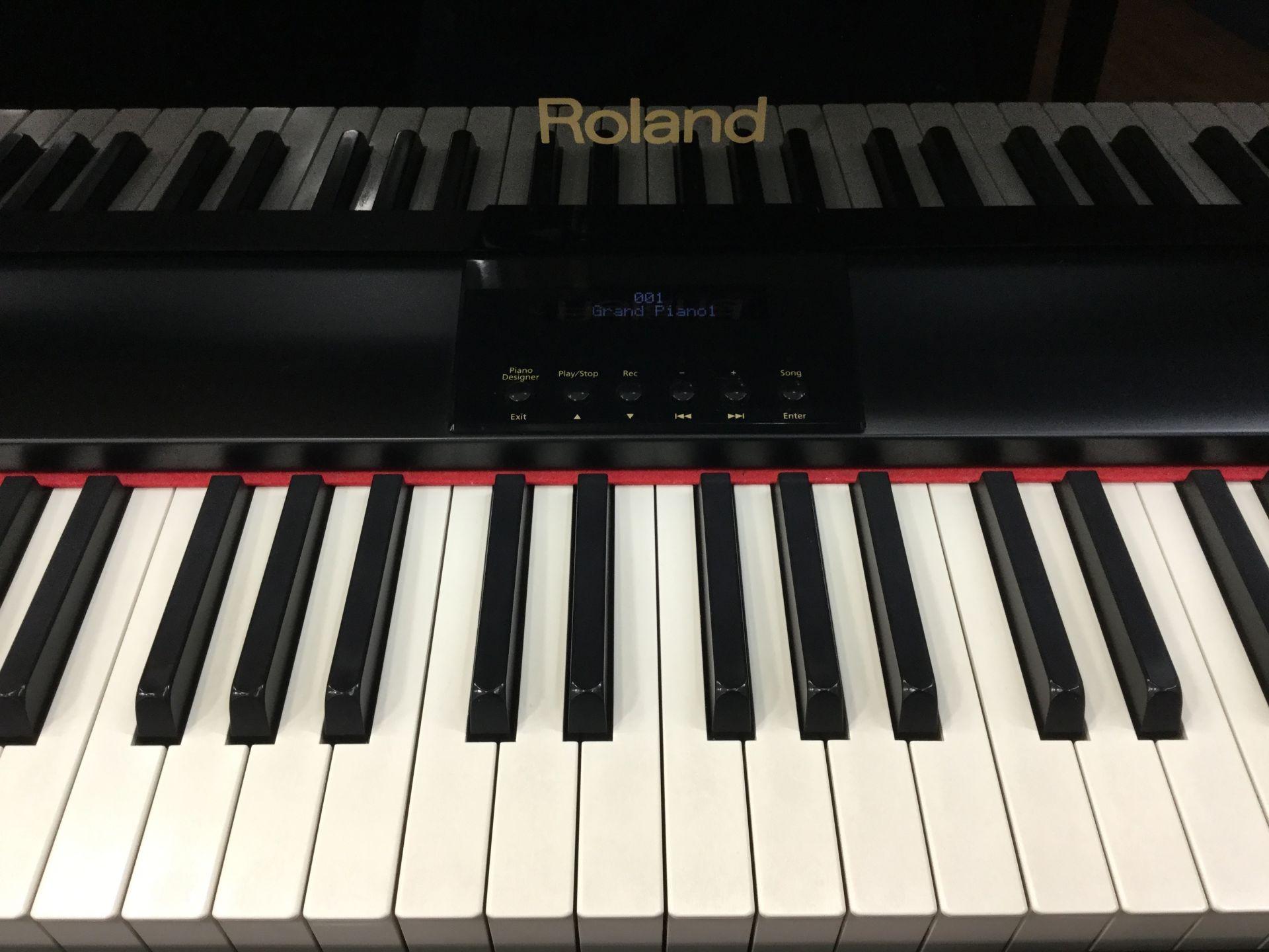 中古 電子ピアノ RG3F 宮城