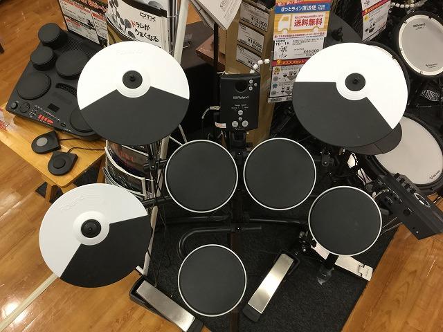 島村楽器 宮城 利府 電子ドラム ローランド