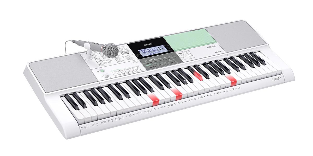 カシオ 光るキーボード