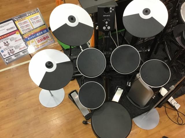 島村楽器 利府 宮城 電子ドラム Roland TD-1