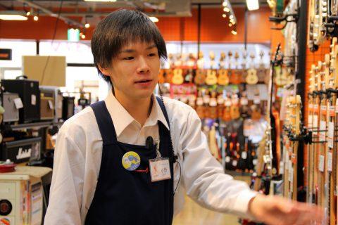 スタッフ写真ギターアドバイザー・エレキベース・デジタル(DJ)小野