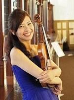 バイオリン講師田中悠里亜