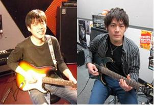 アコースティックギター講師 橋川博紀、森祐介