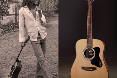 ボブマーリーギター画像