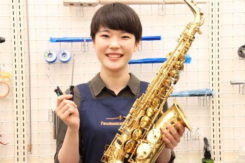 スタッフ写真管楽器リペア吉田