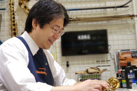 スタッフ写真管弦技術者遠藤