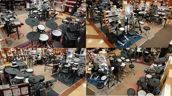 当店電子ドラム売場