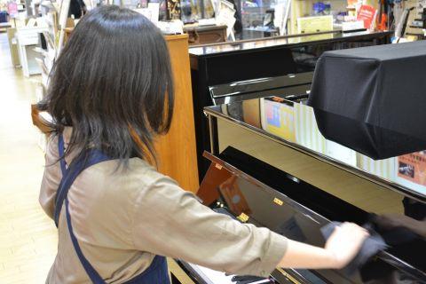 スタッフ写真アコースティックピアノ・音楽教室 担当宮永