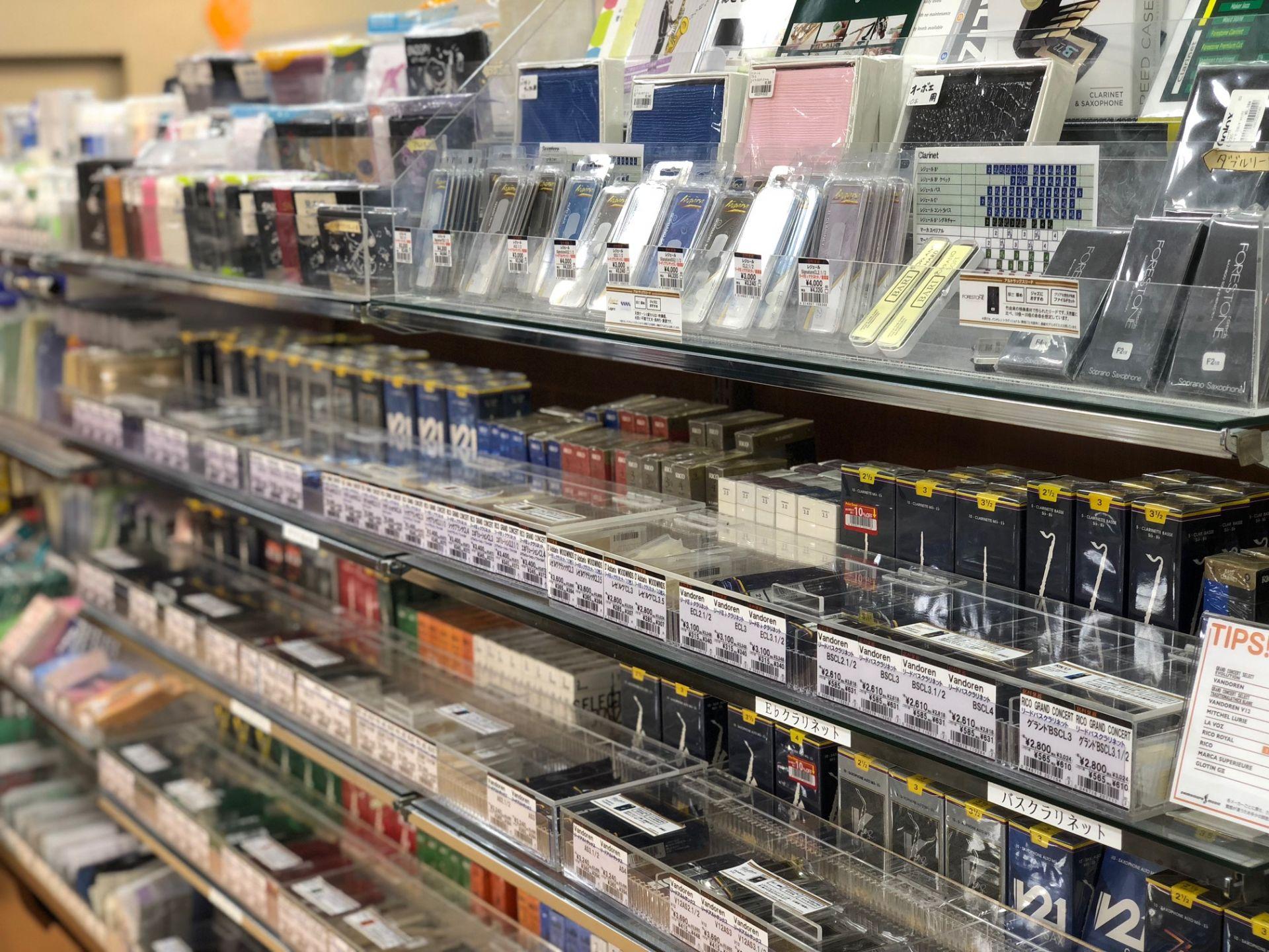 札幌ステラプレイス店 管楽器