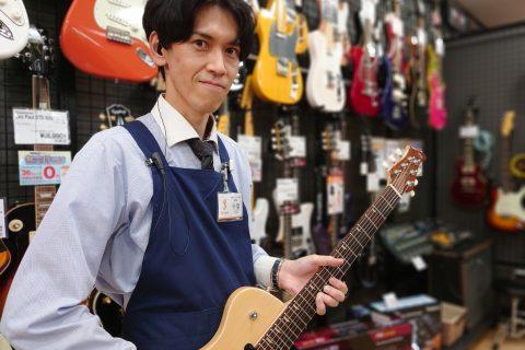 スタッフ写真副店長 /ピアノアドバイザー/ ギターアドバイザー / エレキギター, ベース担当千葉