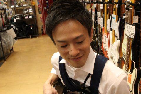 スタッフ写真ギター・ベース・アンプ岡山