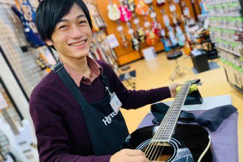 スタッフ写真ギターアドバイザー・デジタルアドバイザー・ウクレレ神保
