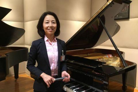 スタッフ写真調律、クラシックピアノ伊藤恵子