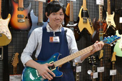 スタッフ写真ギターアドバイザー (エレキギター) エレキベース、マルチエフェクター、アンプ高橋