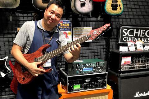 スタッフ写真エレキギター・エレキベース・アンプ・エフェクター・シンセ・デジタル楽器全般疋田