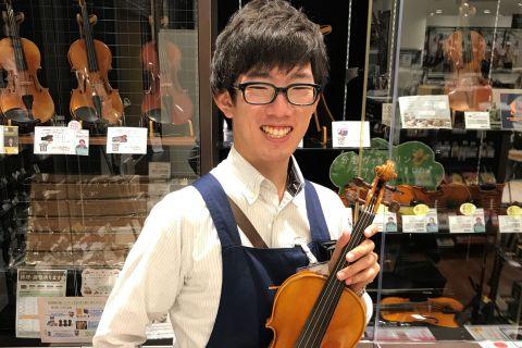スタッフ写真弦楽器アドバイザー・管楽器・ドラム上久保