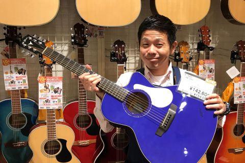 スタッフ写真アコースティックギター・クラシックギター・ウクレレ・弦玉永