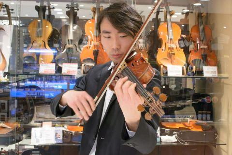 スタッフ写真ヴァイオリンインストラクター鈴木