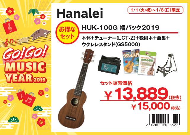 hanalei huk-100g