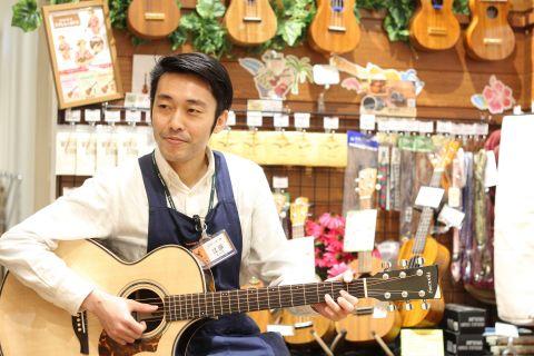 スタッフ写真音楽教室・アコースティックギター・ドラム江原