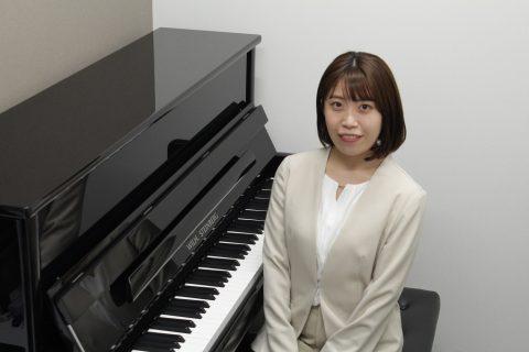 スタッフ写真ピアノインストラクター相良