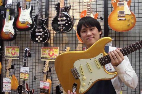 スタッフ写真ギターアドバイザー / エフェクター担当吉見