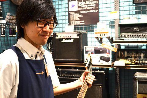 スタッフ写真エレキギター / アンプ /  エフェクター / DTM 担当久保田
