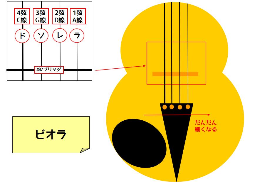 ドンドンわかる!弦楽器の仕組みVol.2 ~音名・開放弦 ...