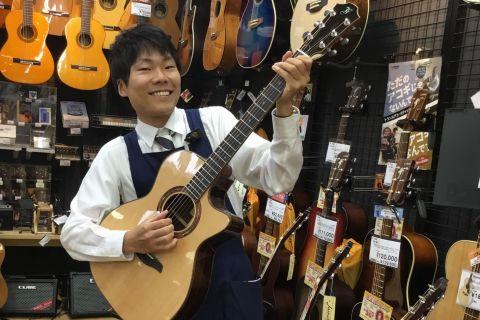 スタッフ写真アコースティックギター今井