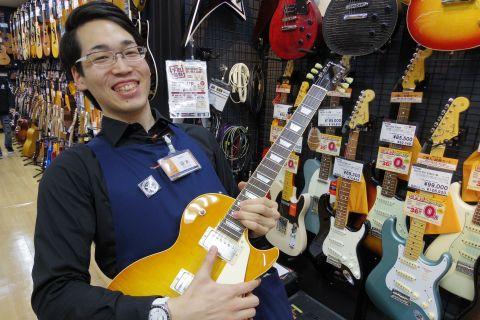 スタッフ写真エレキギター ギターアドバイザー坂本