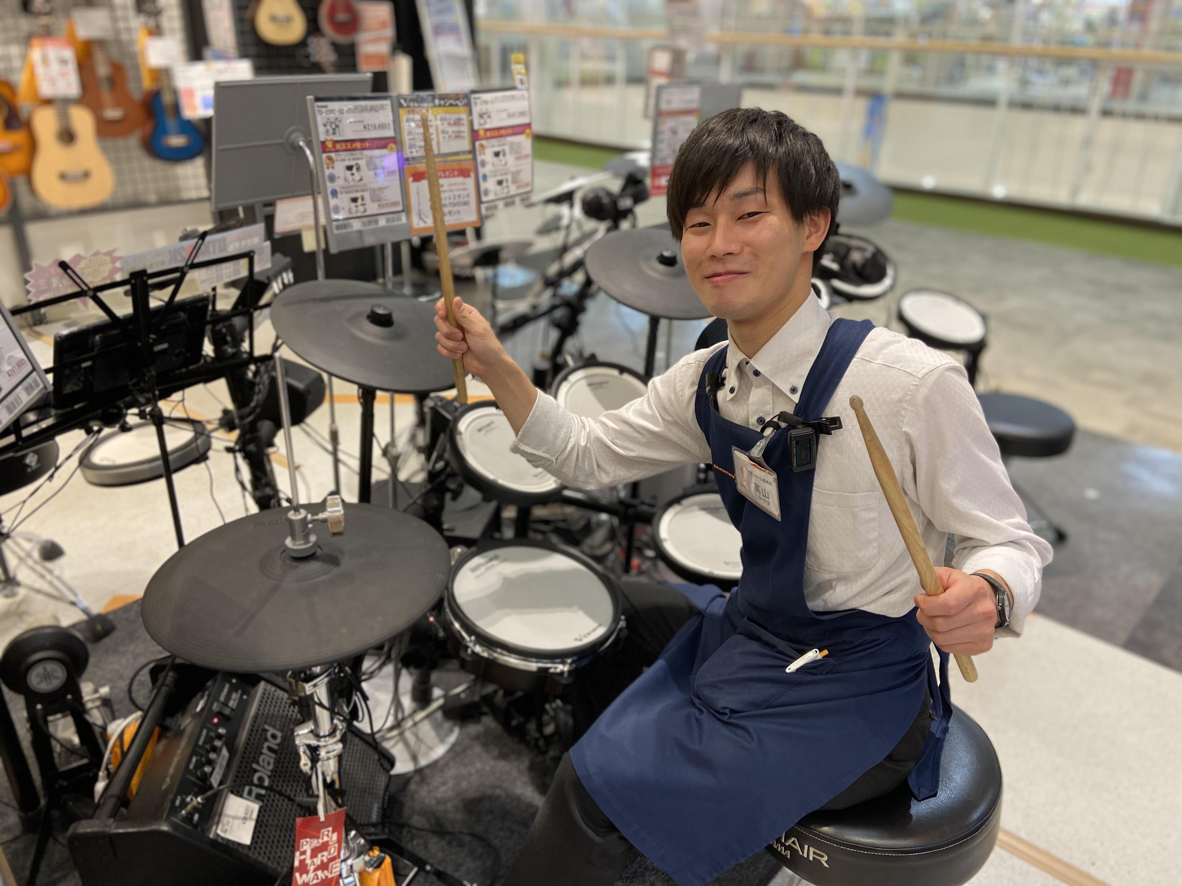 島村楽器 高崎店 ドラム 髙山