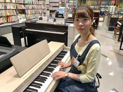 島村楽器イオンモール高崎店 ピアノ担当 黒島