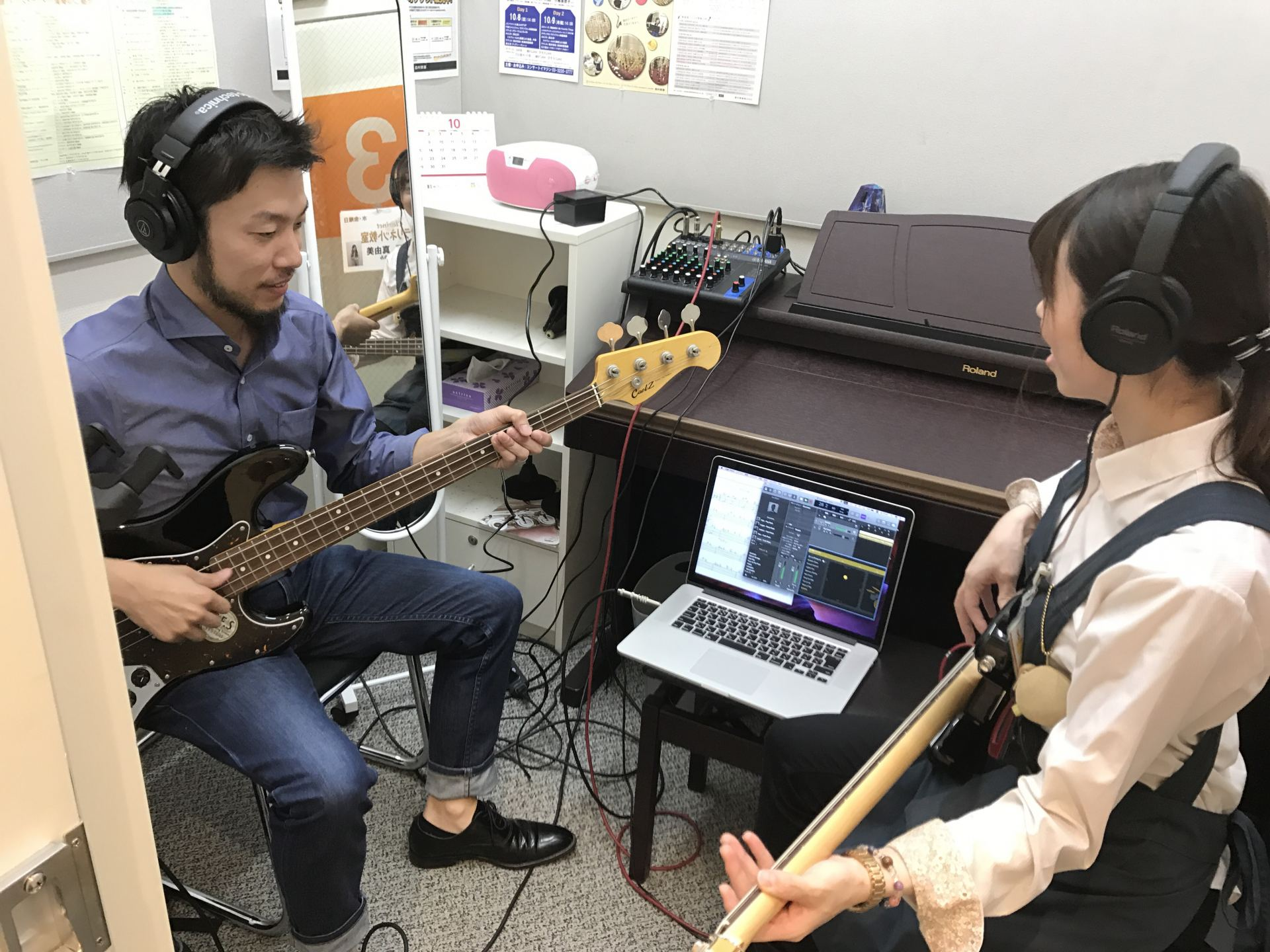 島村楽器イオンモール高崎店 エレキベース教室 体験レッスン