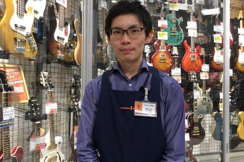 スタッフ写真ギター、ピアノ、弦楽器内山 健朗